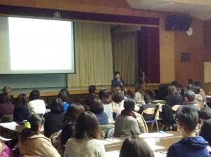(1)講演会